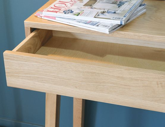 Solid_Oak LongConsole_Table