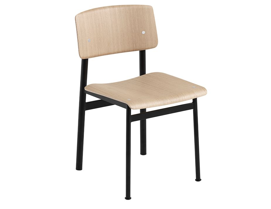 Loft Chair_0019_Loft Chair Black Oak MUUTO 5000x5000