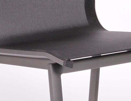 Vydel Outdoor Chairs Charcoal