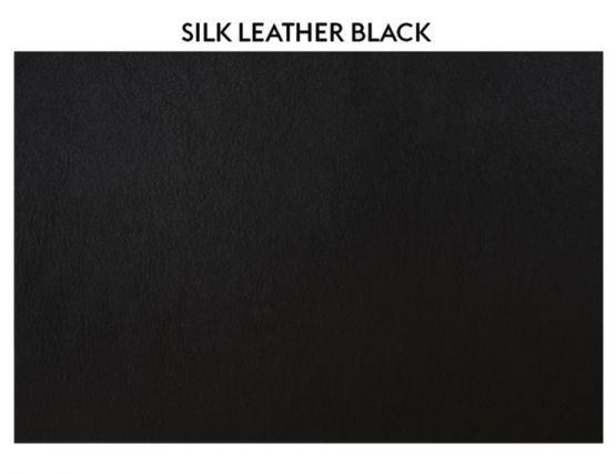 Silk Leather Black