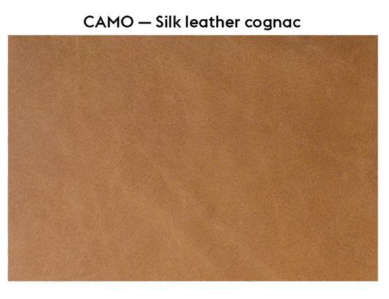 Silk Leather Cognac