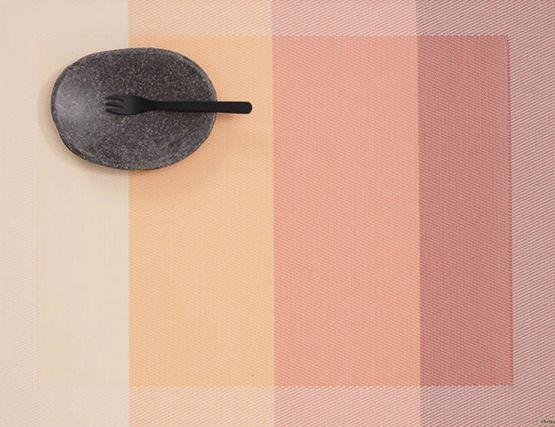 Chilewich Placemat Color Tempo Guava