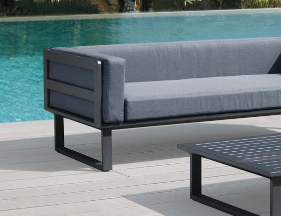 Grey Outdoor Sofa