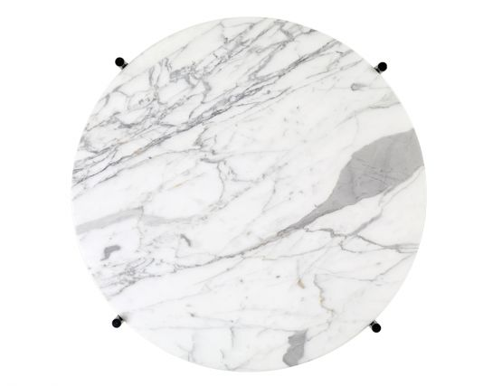 GUBI_COFFEE_TABLE_BLACK_0002_TS_CoffeeTable_Round_55x41_Black_Marble_WhiteCarrara_Top