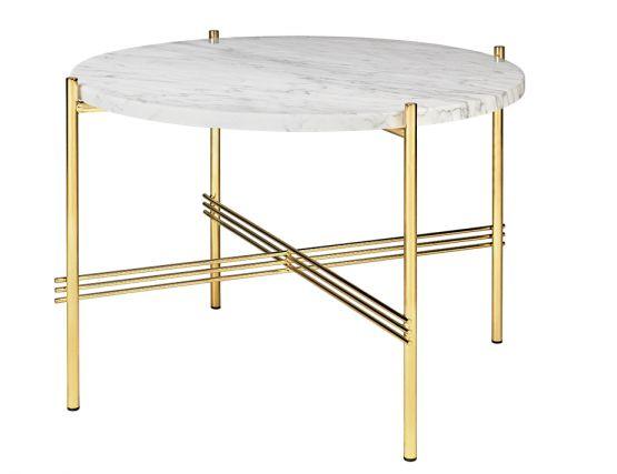 GUBI_COFFEE_TABLE_BRASS_0000_TS_CoffeeTable_Round_55x41_Brass_Marble_WhiteCarrara