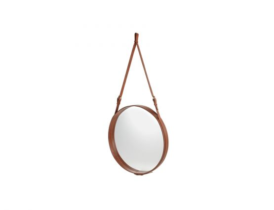 Tan Adnet Mirror Angled 45