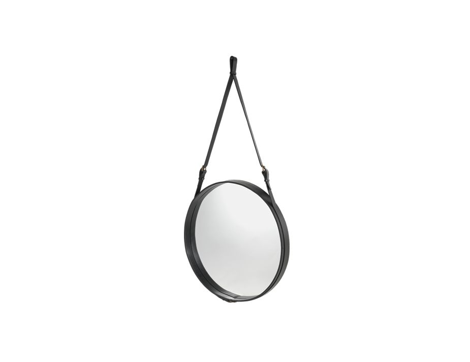 Black Adnet Mirror Angled 45