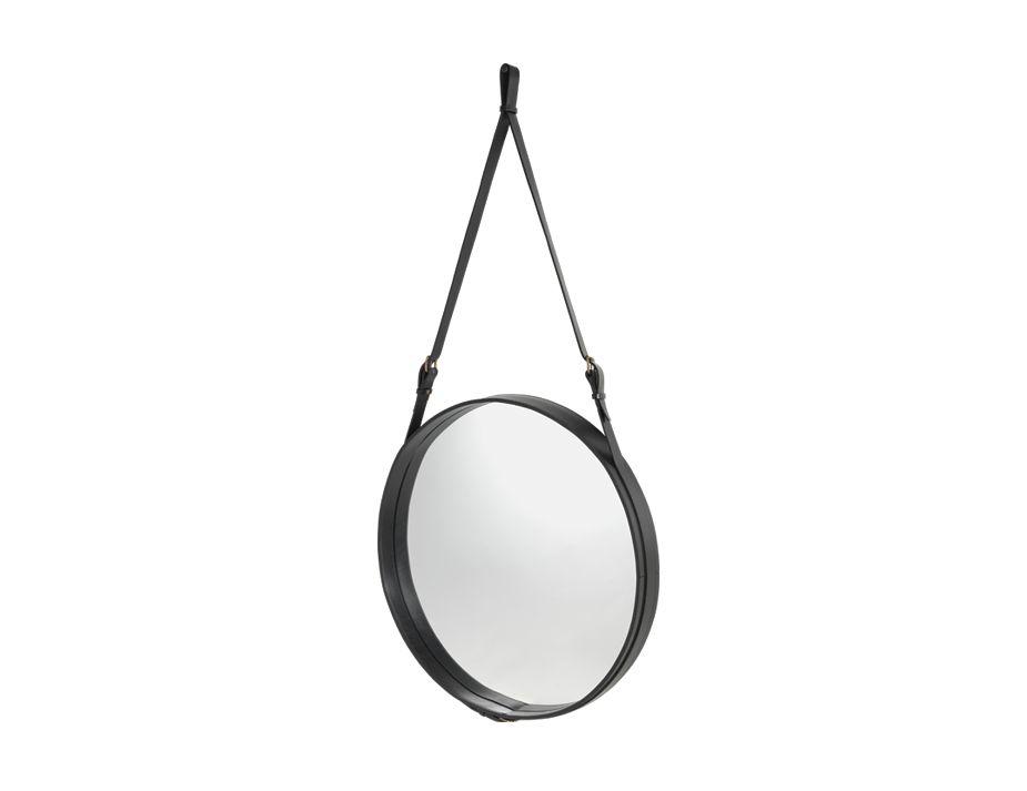 Black Angled_Adnet Mirror 58