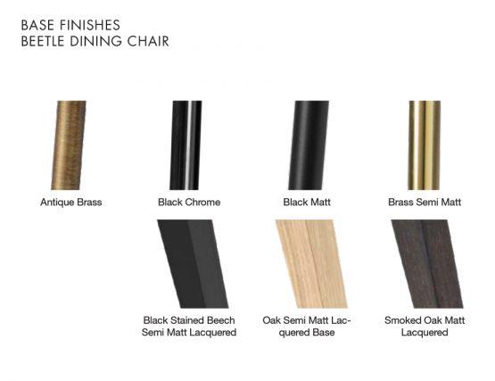 Beetle Chair Base Finishe1s