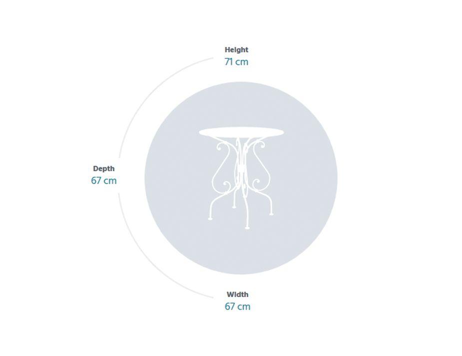 1900 67 Table Specs