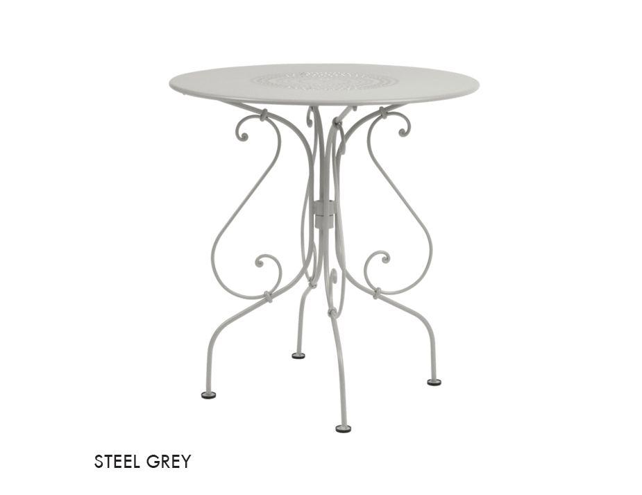 1900 67 Table Steel Grey