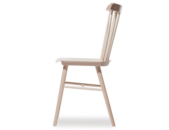 Retro Natural Dining Chair