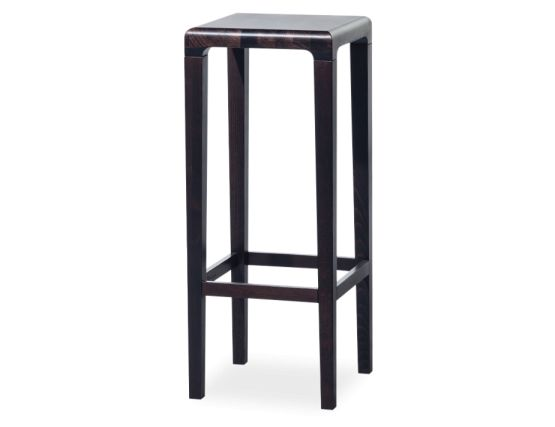 Dark Brown Restaurant Stool
