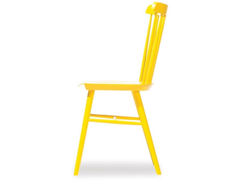 Yellow Designer Ironica Chair