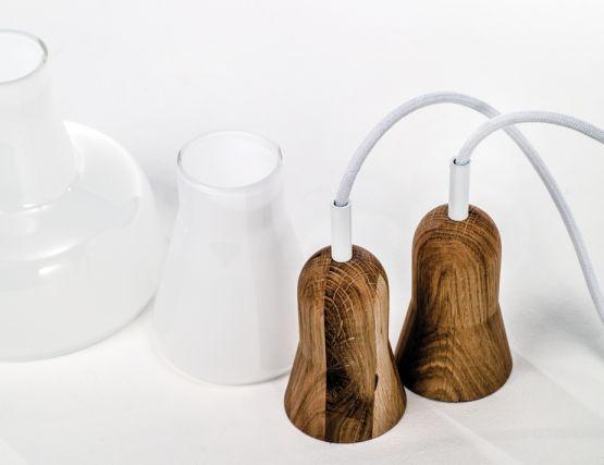 White Lamp Pendant