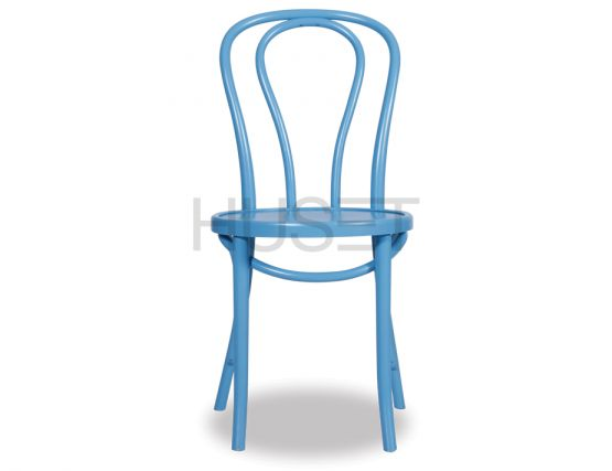 Blue Wood Chair