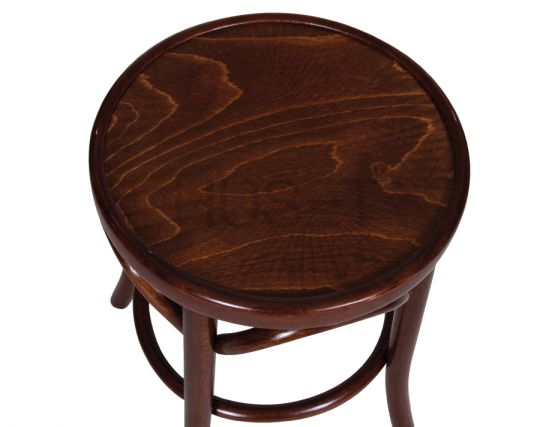 Walnut Low Stool Bentwood
