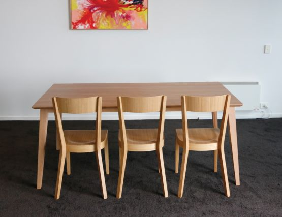 Era And Solid Wood Table