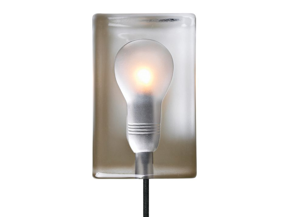 Block Lamp Ice Box