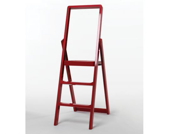 Red Step Ladder