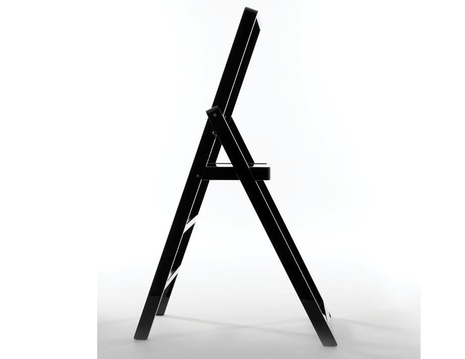 Black Step Stepladder Karl Malmvall Design House Stockholm