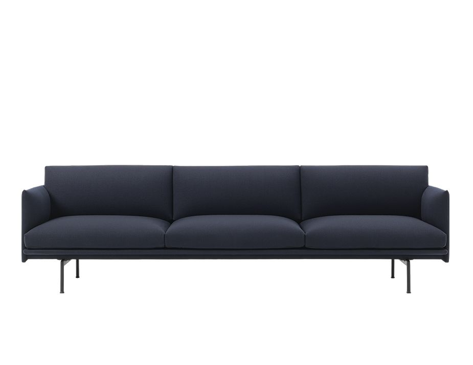 Outline 3 5 Seat Sofa By Muuto