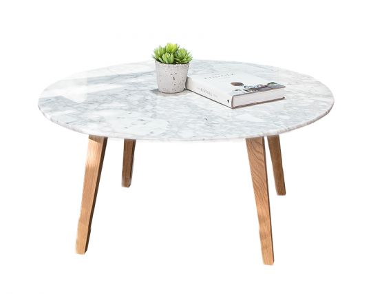 round marble coffee table. Black Bedroom Furniture Sets. Home Design Ideas