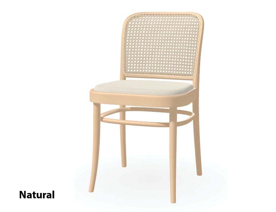 811 Hoffman Bentwood Chair Upholstered By Ton