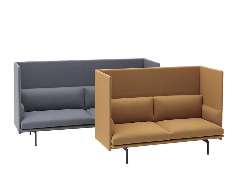 Outline Highback 2 Seat Sofa Muuto