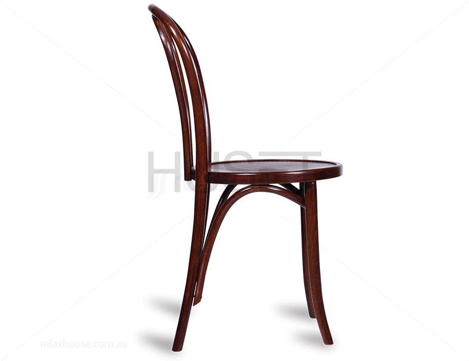 Walnut Vintage Thonet Vienna Bentwood Chair